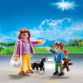 PLAYMOBIL ® Mother with School Child