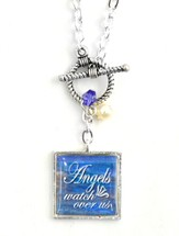 Angels Watch Over Us Necklace