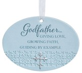 Godfather Giving Love Ornament