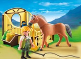PLAYMOBIL ® Work Horse with Stall