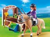 PLAYMOBIL ® Show Horse with Stall