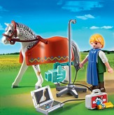 PLAYMOBIL ® Horse with X-Ray Technician