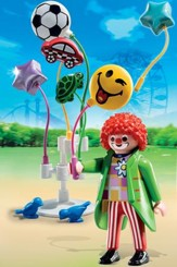 PLAYMOBIL ® Smileyworld Balloon Seller Playset