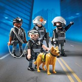 PLAYMOBIL ® Tactical Unit Team Playset