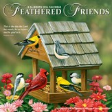 Feathered Friends, 2016 Wall Calendar