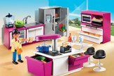 PLAYMOBIL ® Modern Designer Kitchen Playset