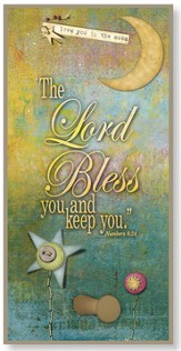The Lord Bless You and Keep You Hook Plaque