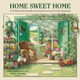 Home Sweet Home, 2016 Wall Calendar