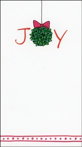 Joy Christmas Cards, Box of 16