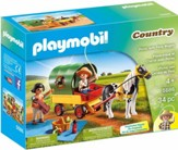 Playmobil Picnic With Pony Wagon Accessory