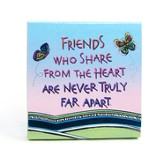 Friends Who Share From the Heart Notepad