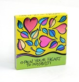 Open Your Heart To Possibility Notepad