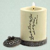 Love The Lord, Cylinder Tealight Holder
