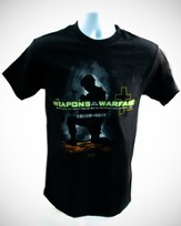 Weapons of Our Warfare Shirt, Black, 4X Large