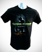 Weapons of Our Warfare Shirt, Black, XX Large