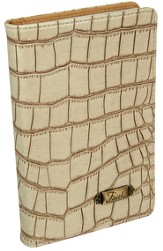 Faith, Croc Embossed Journal, Tan