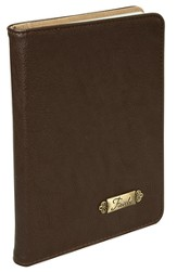 Faith Journal, Brown