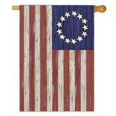 Betsy Ross Rustic Flag, Large