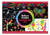 Deluxe Combo Scratch Art Set