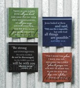 Inspirational Magnet Set, Trust, Faith, Strength, Journey