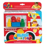 Fire Truck, Coloring Book and Block Crayons