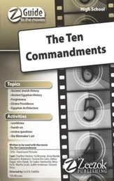 The Ten Commandments Movie Guide CD Z-Guide to the Movies
