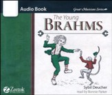 The Young Brahms Audiobook CD