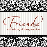 Friends Are God's Way Magnet