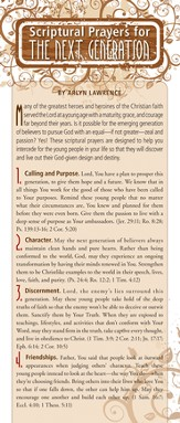 Scriptural Prayers for the Next Generation Prayer Card, Pack of 50