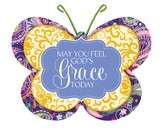 May You Feel God's Grace Today, Butterfly Magnet