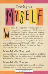 Praying for Myself Prayer Card, Pack of 20