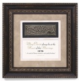 May Christ Always Be At the Heart Of This Marriage Framed Art