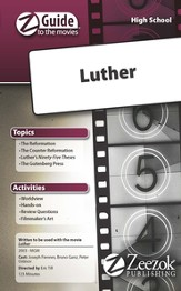Luther Movie Guide CD Z-Guide to the Movies