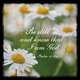 Be Still and Know Boxed Plaque
