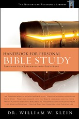 Handbook for Personal Bible Study - Slightly Imperfect
