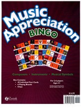 Music Appreciation for the Elementary Grades Book 1 Bingo! - Slightly Imperfect