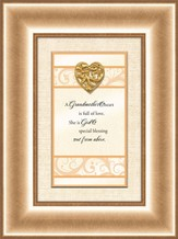 Heart Prints, Grandmother's Heart, Framed Print