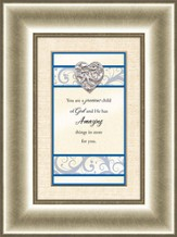 Heart Prints, Child of God, Framed Print