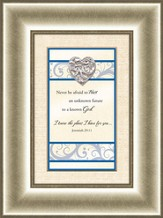 Heart Prints, Jeremiah 29:11, Framed Print
