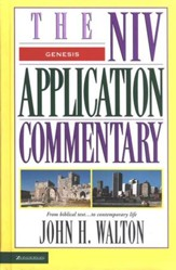Genesis: NIV Application Commentary [NIVAC]