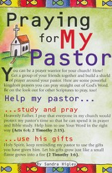 Praying for My Pastor Prayer Card, Pack of 20