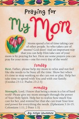 Praying for My Mom Prayer Card, Pack of 20