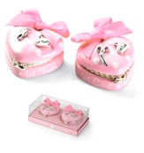 Princess Heart Treasure Box Set, Pink