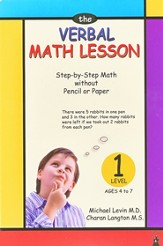 The Verbal Math Lesson, Level 1, Ages 4 to 7