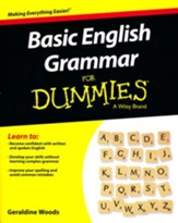 Basic English Grammar For Dummies For Dummies Language & Literature 1st Est.