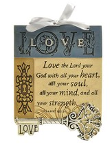 Love The Lord Plaque, Key