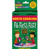 North Carolina Fab Facts Fast Card Game