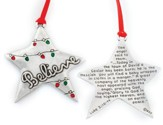 Star Ornament, Believe