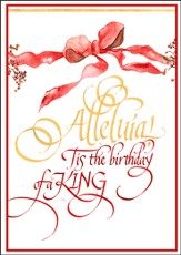 Alleluia! Deluxe Box Christmas Cards, Box of 20