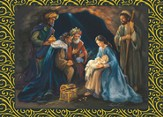 The Nativity Deluxe Box Christmas Cards, Box of 20